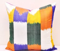 Designer Square Ikat Pillow