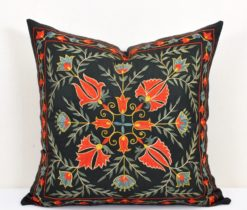 Boho pillow black