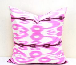 Light Pink Silk Pillow