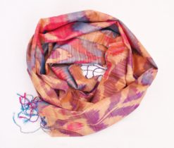 Bahor Ikat silk scarf, Ikat Silk Scarf Sale Silk Home Product