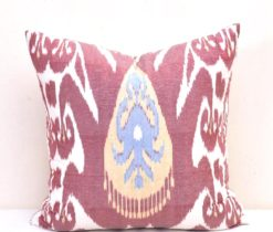 Pale Violet Ikat Covers