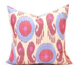Paisley Design Silk Pillow