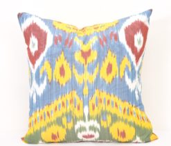 Multicolour Accent Ikat Pillow