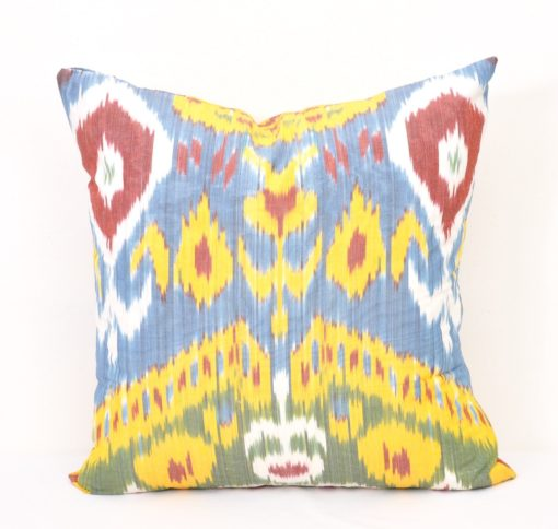 Accent ikat pillow