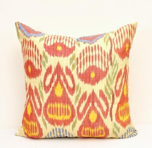 throw ikat pillow
