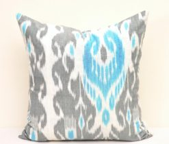 Cheap Throw Ikat Pillow Cover