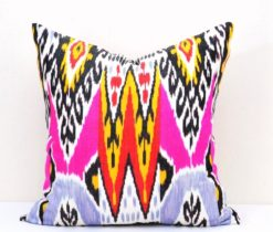 Multi Colour Ikat Pillow