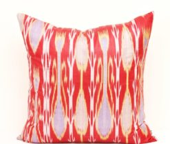 Throw Ikat Accent Pillow Cover