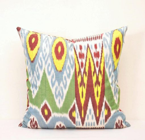 Bukhara Silk Throw Pillow