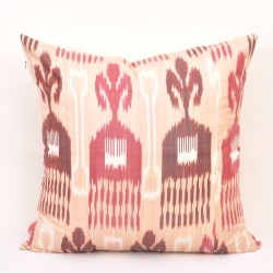 Sofa pillows ikat