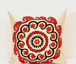 Embroidered cushion, Islamic Motif Stitch Home Decor Pillow
