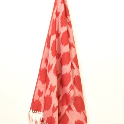 silk ikat scarves