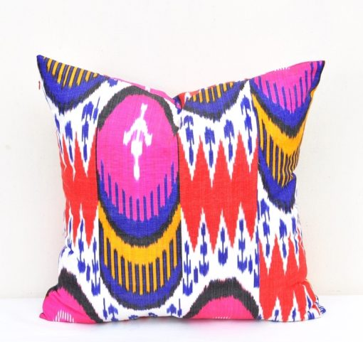 Colorful Accent Throw Pillow