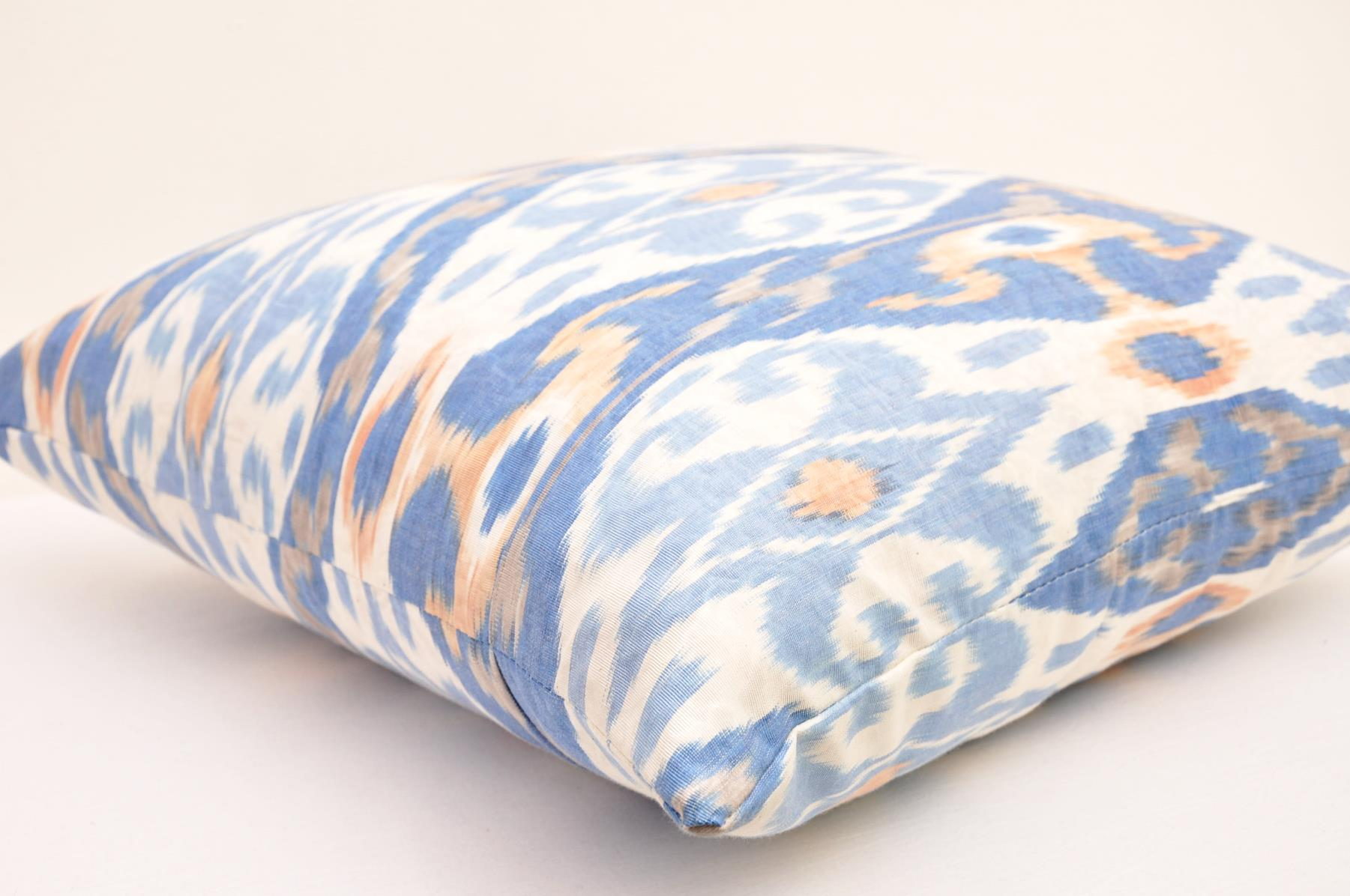 Handmade Ikat Throw Pillows : Handmade ikat designer pillow - Alesouk Grand Bazaar online shopping