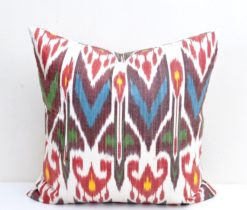 Designer Throw Ikat Cover