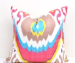 Ikat Throw Pillow Case