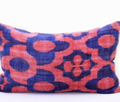 Velvet Ikat Pillow Marjon