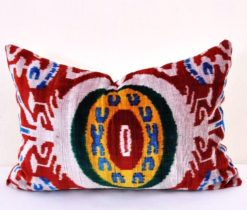 Colorful Turkish Velvet Pillow Cushion