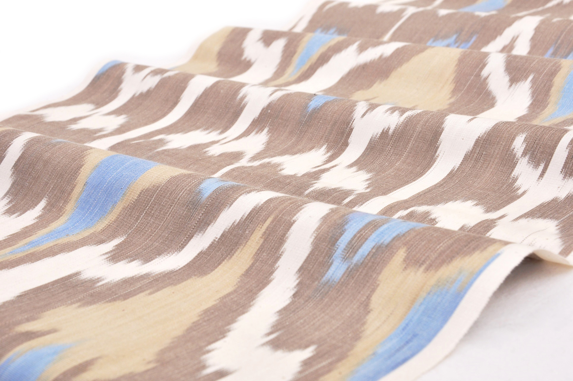 Ikat Fabric Fire Bird Design Alesouk Grand Bazaar