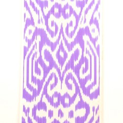 thistle ikat fabric