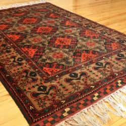 Tribal wool rug