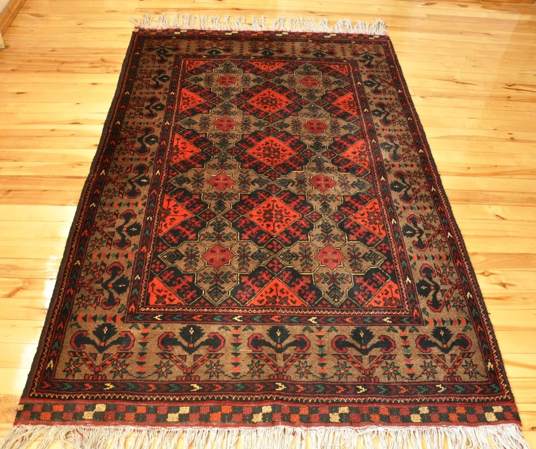 Herat Hand Knotted Afghan Rug