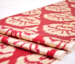 Red Designer Fabric