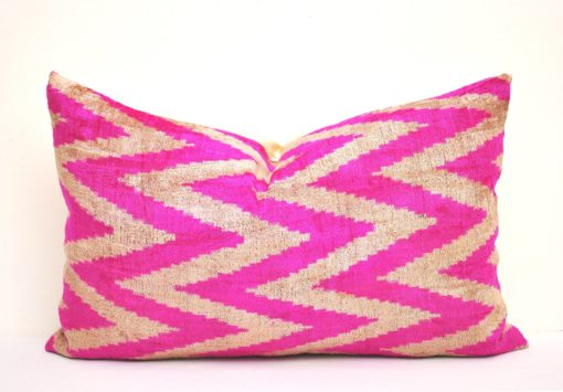 Pink Chevron Pillow Case