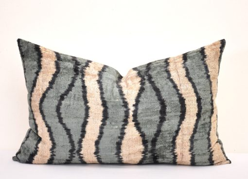 Bohemian Gray Decor Pillow