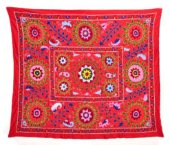 Bukhara suzani red