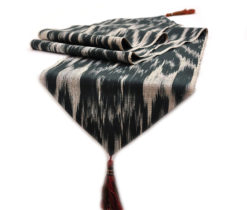 ikat table runner cotton