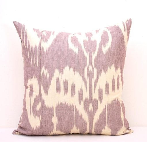 Nostalgic Ikat Pillow Cover