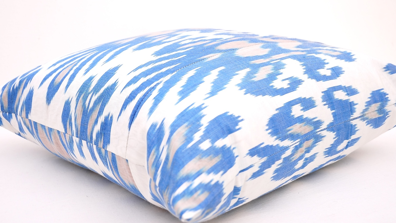 Sky Blue Indoor Outdoor Ikat Pillow Pottery Barn Style