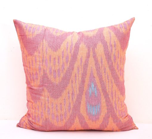 Indoor Square Ikat Pillow