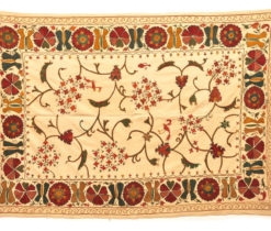 Suzani Textile Embroidery Wallhanging suzani fabric embroidered
