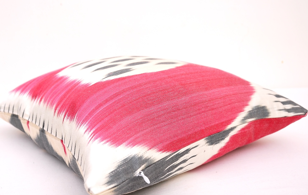 Hot Pink Outdoor Throw Pillows : Hot Pink Throw Pillow Cover - Indoor Outdoor Couch Pillow Cover