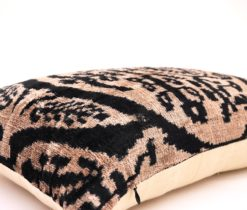 velvet ikat pillow cover