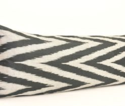 Black Chevron Bolster Pillowcase