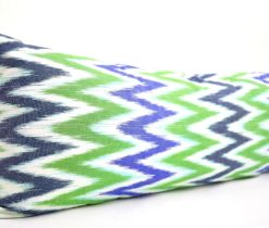 Colorful Chevron Bolster Cushion