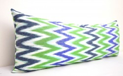 multi chevron pillow
