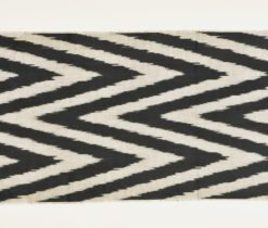 chevron ikat cotton