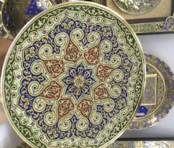 turkish brass plate