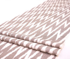 chevron silk fabric