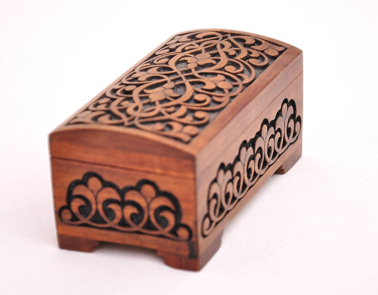 Middle Eastern Home Decor Wooden Gift Box Hand Carved