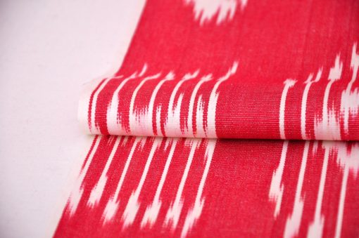 red cotton fabric