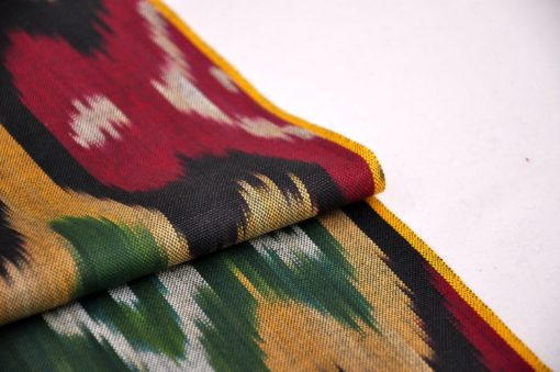 dyed cotton ikat