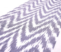 Zigzag design cotton decorative clothing