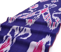 Traditional Designer Cotton Ikat Textile