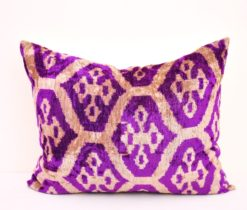 thistle ikat pillow, Thistle ikat pillow case 14 x 20 inch