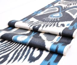 ikat fabric handwoven